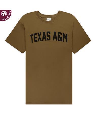 Texas A&M Coyote Brown Military T-Shirt