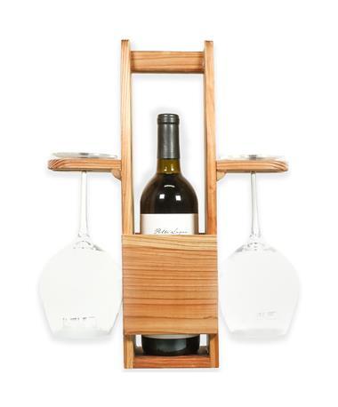 Single Wine Tote Glass Holder