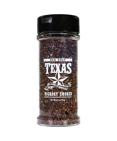 Texas Flame and Smoke Hickory Smoked Sea Salt