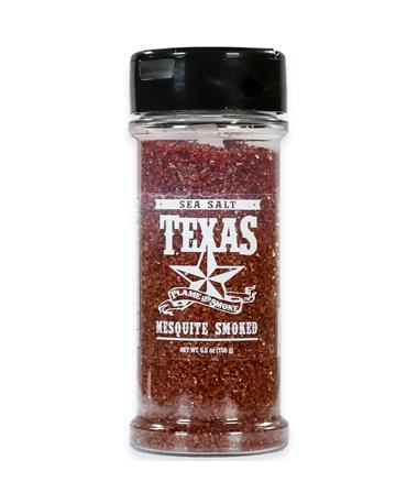 Texas Flame and Smoke Mesquite Smoked Sea Salt