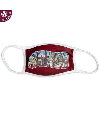 Texas A&M HOWDY Portrait Face Mask: An Aggieland Outfitters Exclusive