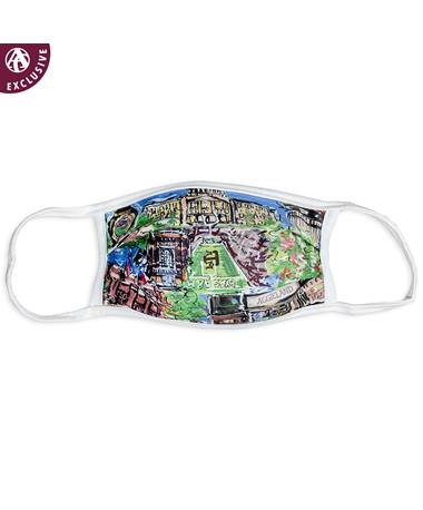 Texas A&M Aggieland Portrait Face Mask: An Aggieland Outfitters Exclusive