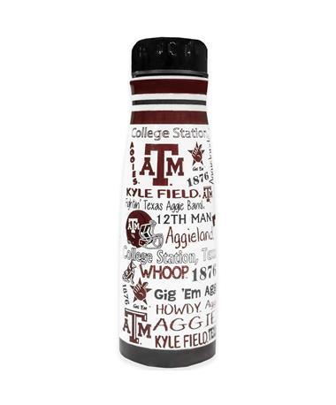 Texas A&M Wrap Around Tumbler