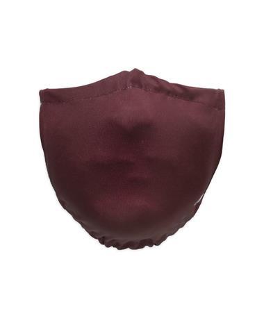 Maroon Champion Solid Maroon Mask