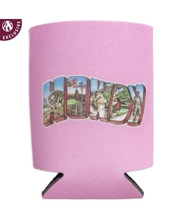 Texas A&M HOWDY Traditions Pink Koozie