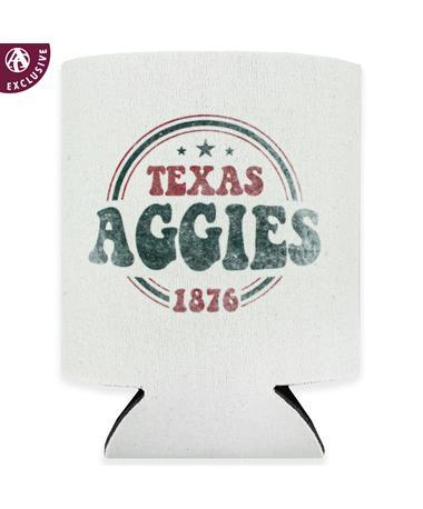 Texas A&M Fuzzy Patriotic Koozie