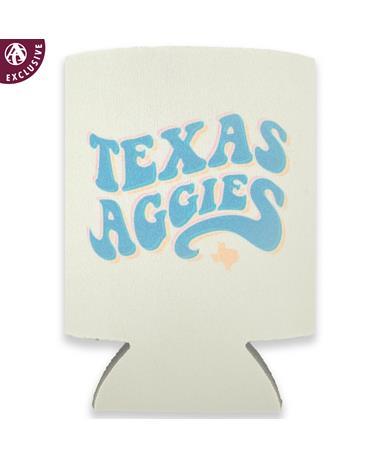 Texas A&M Fuzzy Bubble Koozie