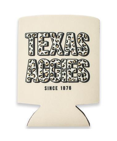 Texas A&M Aggies Cheetah Koozie