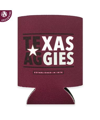 Texas A&M Texas Aggies Koozie