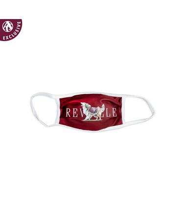 Texas A&M Reveille Youth Face Mask