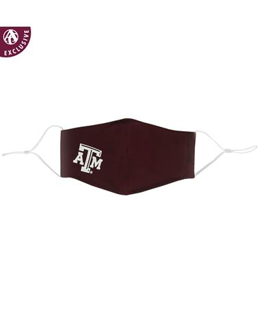 Texas A&M Maroon Polyester Face Mask