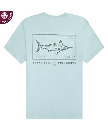 Texas A&M Blue Marlin T-Shirt