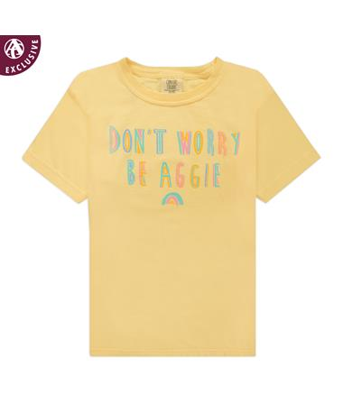 Don't Worry Be Aggie Youth T-Shirt