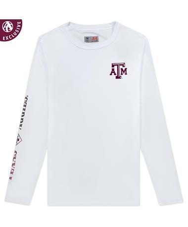 Texas A&M Diamond Long Sleeve Performance Shirt
