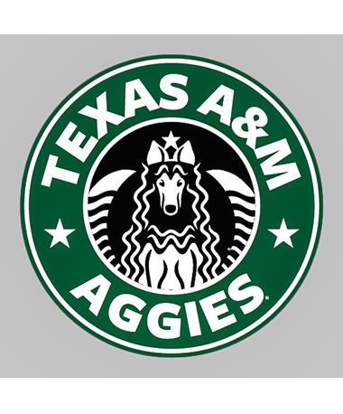 Texas A&M Aggies Star Rev Dizzler Sticker