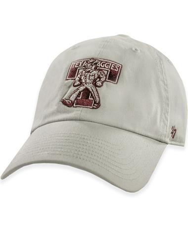 Texas A&M '47 Brand Texas Aggies Vintage Gray Sarge Hat