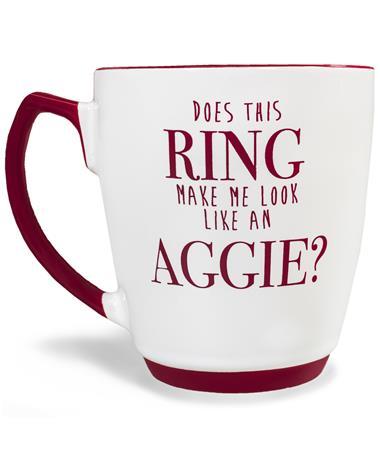 Texas A&M Whoop Ring Mug