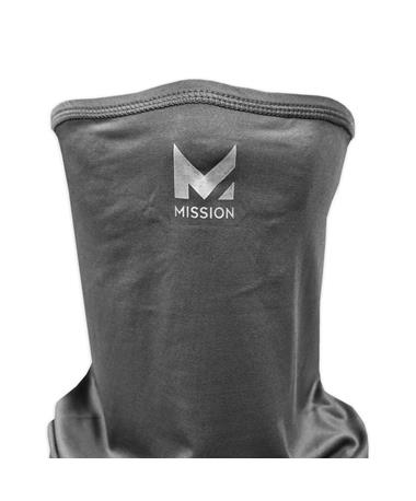 Mission Charcoal Cooling Gaiter