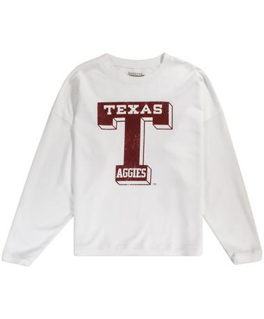Texas A&M French Terry Crew Vault-T Sweatshirt