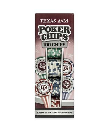 Texas A&M Poker Chips