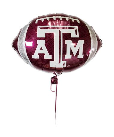 Texas A&M Football Foil Balloon