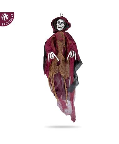 Maroon Horns Down Hanging Ghost