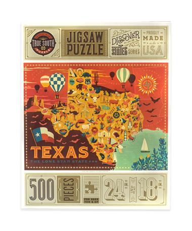 Texas 500 Piece Jigsaw Puzzle