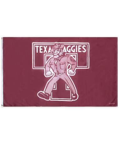 Texas Aggies Ol' Sarge Flag