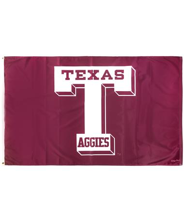 Texas A&M 3'x 5' Vault-T Flag