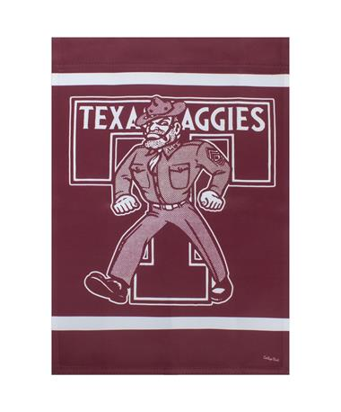 Texas A&M Ol' Sarge Garden Sign