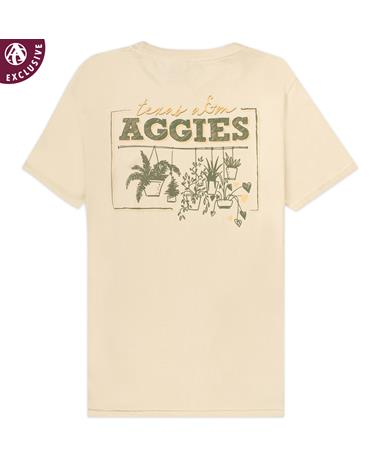 Texas A&M Hanging Plants T-Shirt