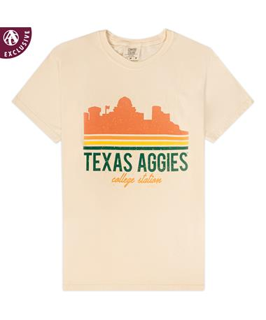 Texas A&M 3 Stripe Texas Aggies T-Shirt