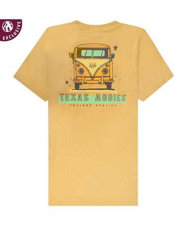 Texas A&M Aggies Yellow Van T-Shirt