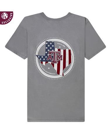 Texas A&M Compass Flag T-Shirt