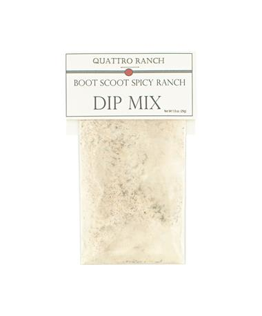 Quattro Ranch Boot Scoot Spicy Ranch Dip Mix