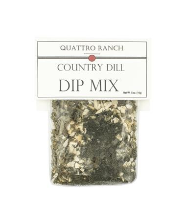 Quattro Ranch Country Dill Dip Mix