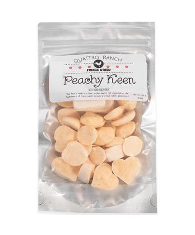 Quattro Ranch Peachy Keen Freeze Dried Peach Yogurt