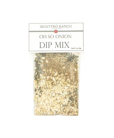 Quattro Ranch Oh So Onion Dip Mix