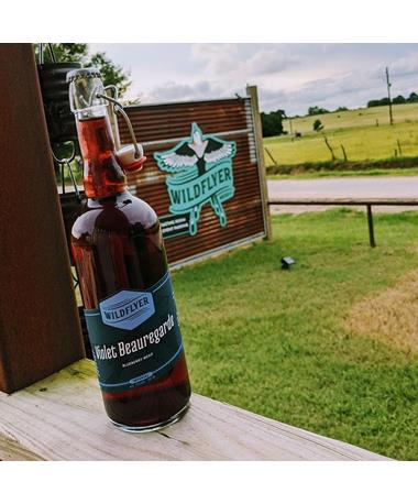 IN STORE PICKUP OR LOCAL DELIVERY ONLY: Wildflyer Mead Violet Beauregarde Blueberry Mead