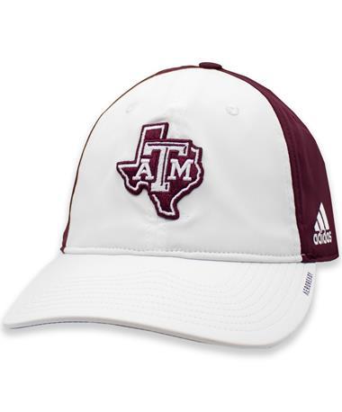 Texas A&M Adidas Coach Slouch Flex Cap