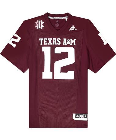 Texas A&M Adidas Premier 2021 Home Jersey