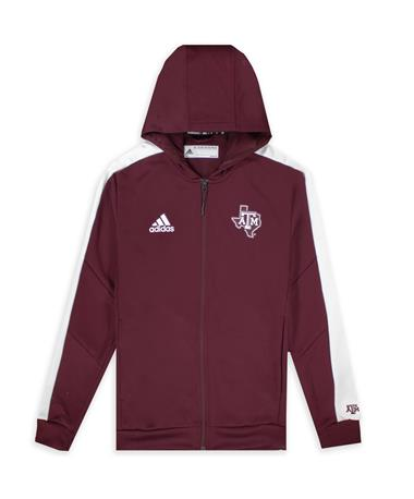 Texas A&M Adidas Sideline Full Zip Jacket 2021