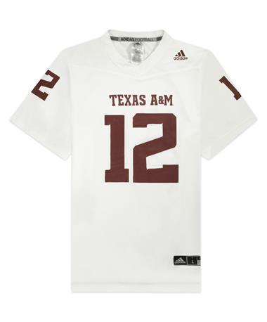 Texas A&M Adidas Replica 2021 Away Jersey