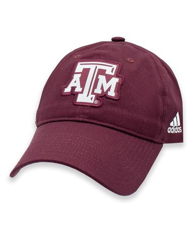 Texas A&M Adidas Slouch Adjustable ATM Hat