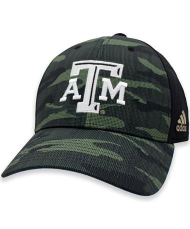 Texas A&M Aggies Camo Structured Stretch Cap