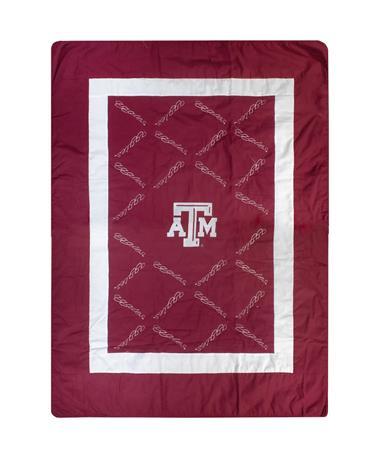 """Texas A&M Aggies 48"""" X 62"""" Quilt"""