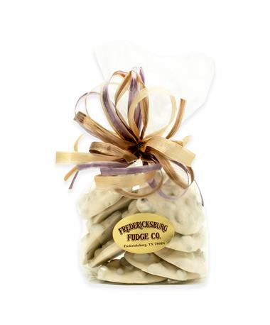 Fredericksburg Fudge Co. White Chocolate Pecan Clusters
