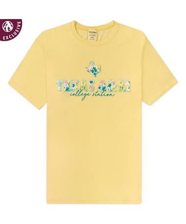 Texas A&M Floral Filled T-Shirt