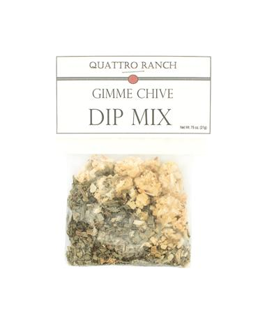 Quattro Ranch Gimme Chive Dip Mix