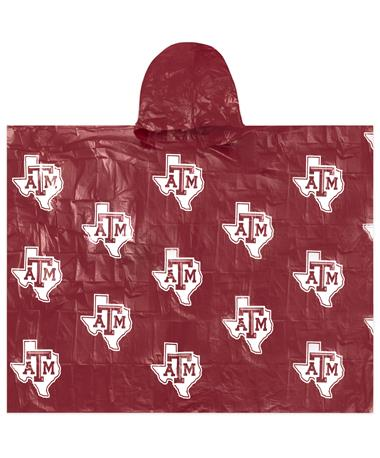 Texas A&M Maroon Lightweight Poncho
